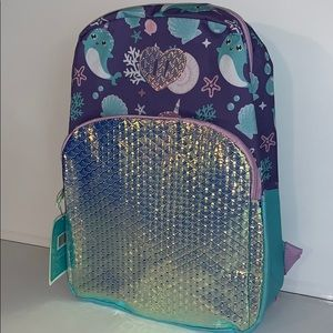 Girl's under the sea backpack